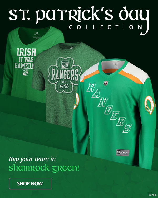 pretty nice ac167 78175 Shop.NHL.com: Prep Your St. Patrick's Day Look! | Milled