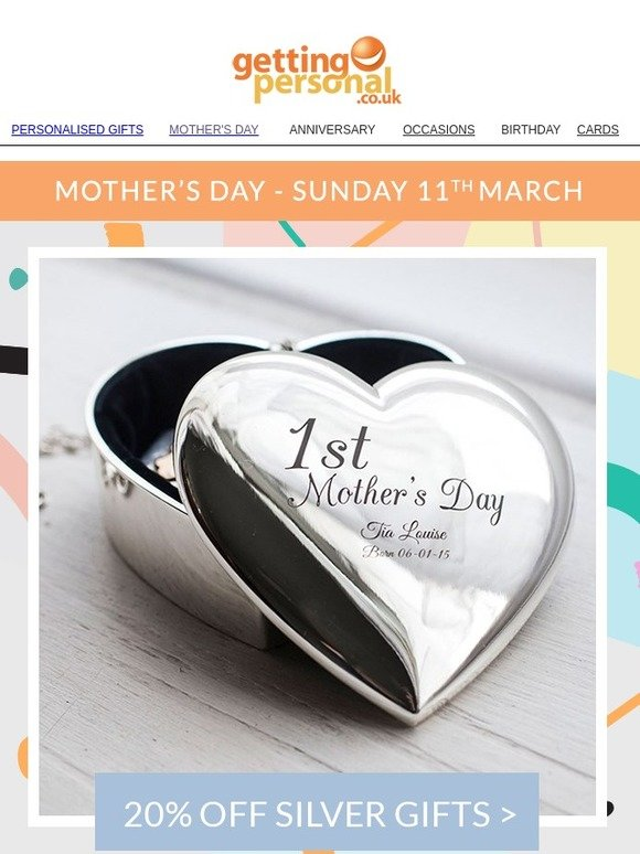 Getting Personal Its Time To Wow Mum Milled