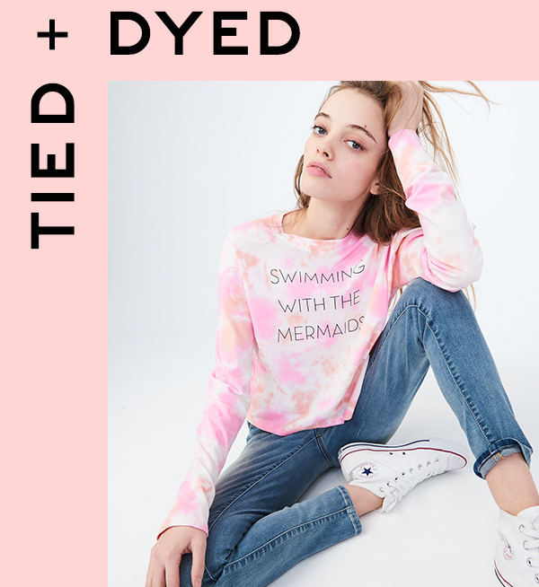 Shop Tied + Dyed Trending