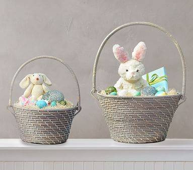 Pottery barn kids you owe yourself this quinn gray collapsible quinn gray collapsible handle easter baskets solutioingenieria Choice Image