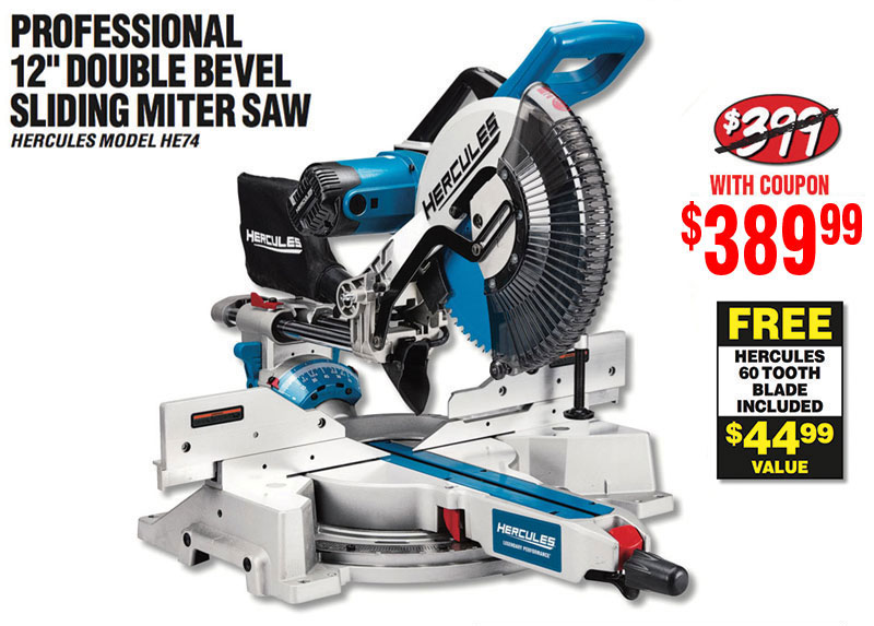 Harbor Freight New Hercules Miter Saw Is Here Milled