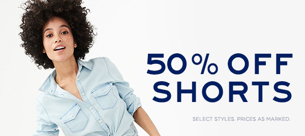 50% Off Girls Shorts