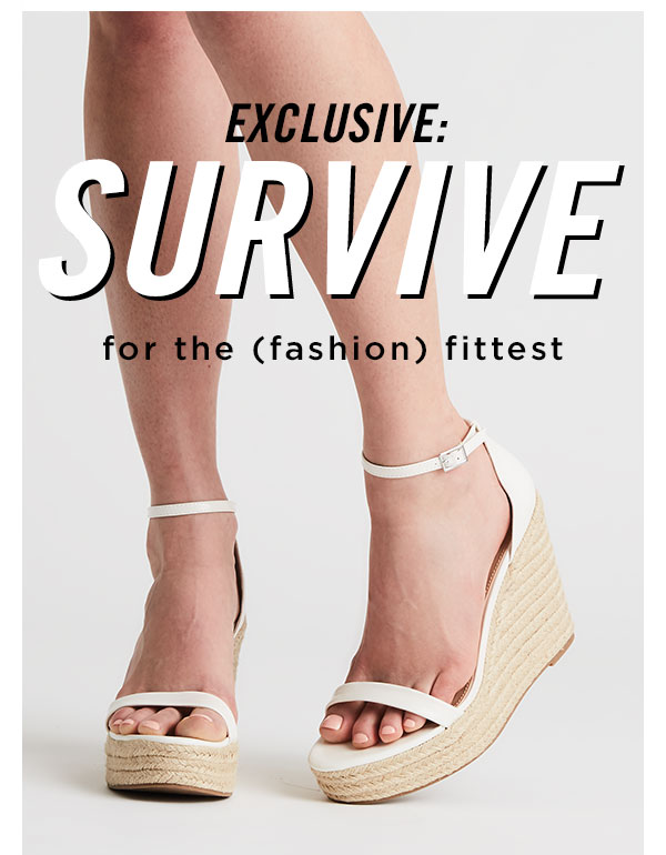 Steve Madden: You will SURVIVE.   Milled