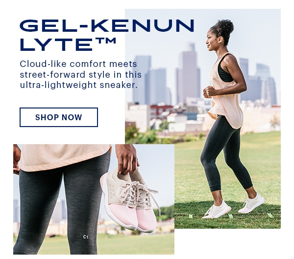 Meet the ultra-lightweight GEL-KENUN