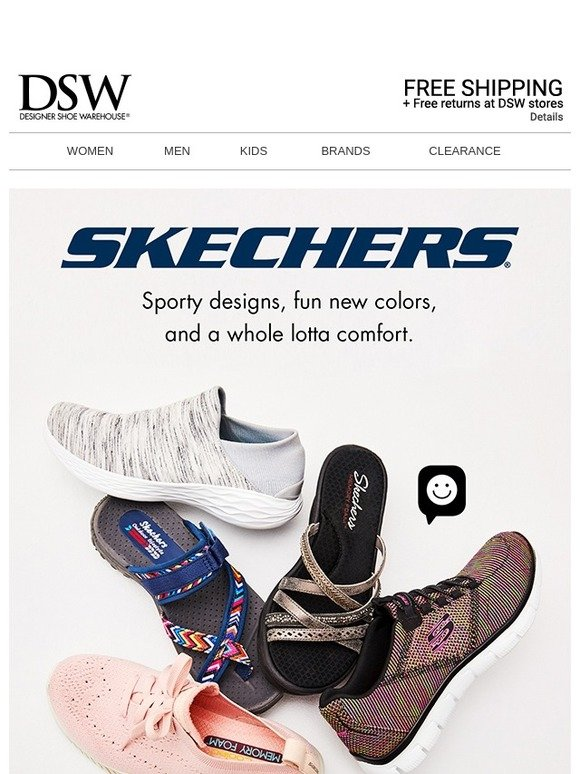 DSW: New Skechers are HERE. | Milled