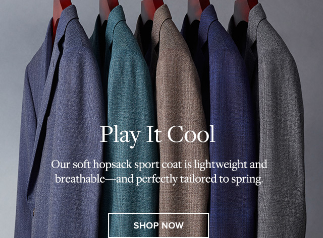 PLAY IT COOL | SHOP NOW