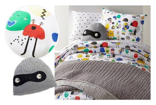 Little Monster Bedding
