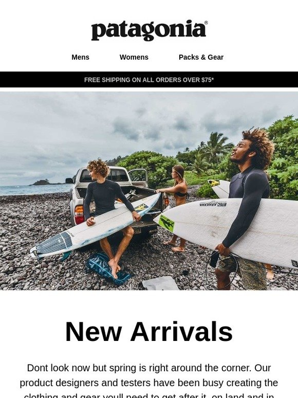 8618dd6cb Patagonia: New arrivals for spring | Milled
