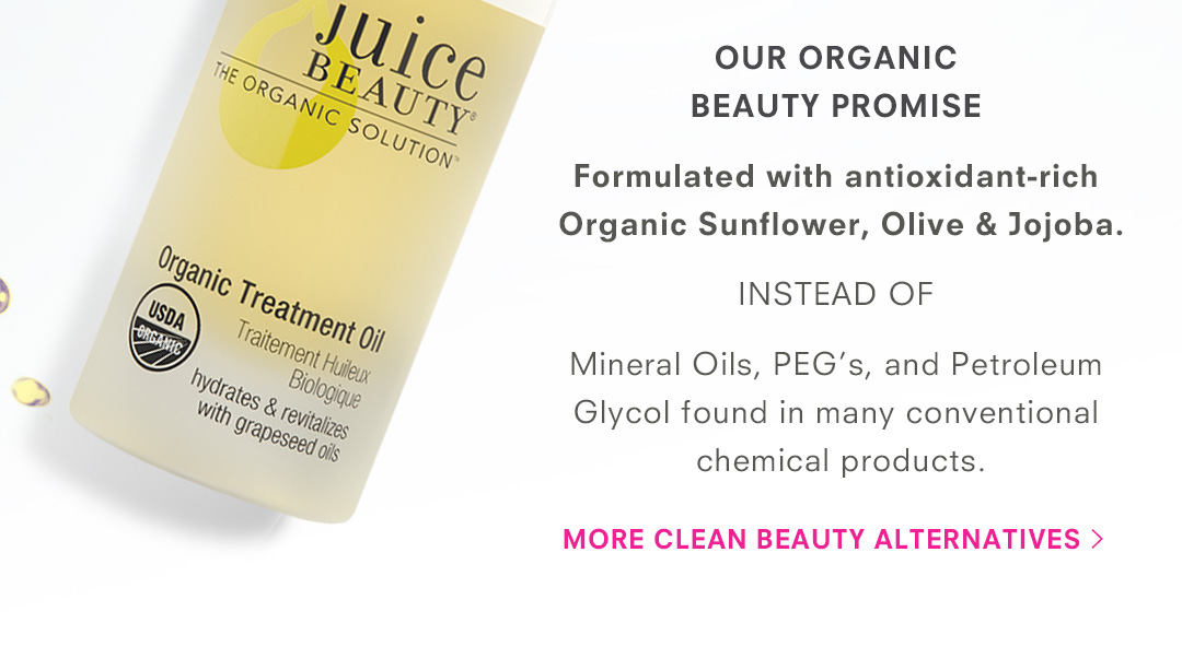 Our Organic Beauty Promise