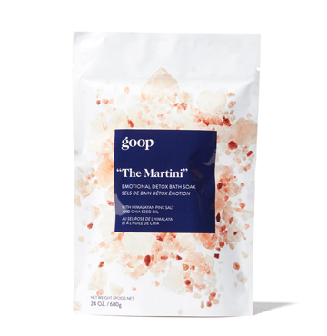 """The Martini"" Emotional Detox Bath Soak, goop body $35"