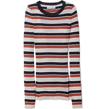 LUREX STRIPE RIB SECOND SKIN TOP Apiece Apart $320