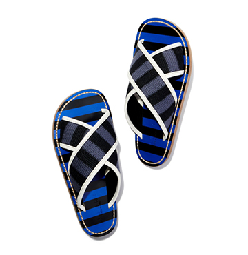 STRIPED SLIDE SANDAL Marni $690