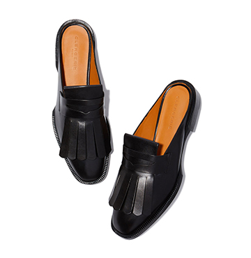 Clergerie Yumi Leather Slides, $635