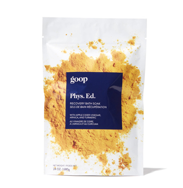 Phys.Ed. Recovery Bath Soak, goop body, $35
