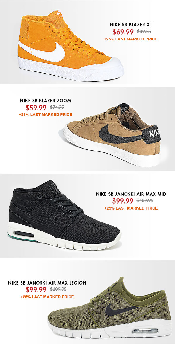 Zumiez. Up to 25% Off Last Marked Price - Shop Nike Sale Now