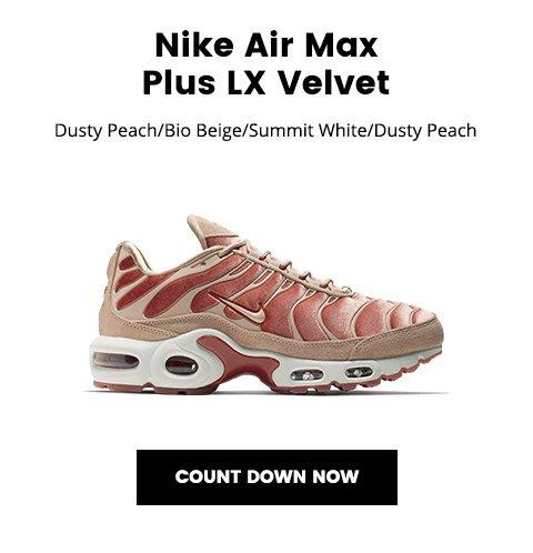 air max plus lx velvet