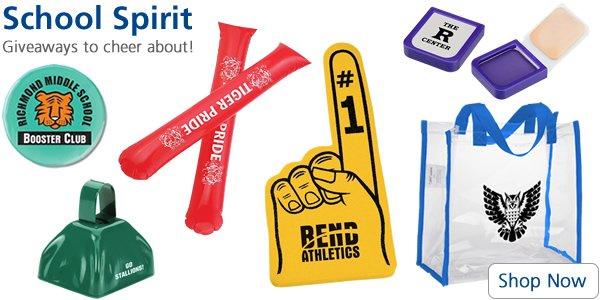 ideas to increase school spirit