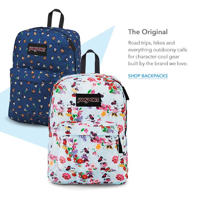 Disney Store Obsessed New Jansport Backpacks More Milled