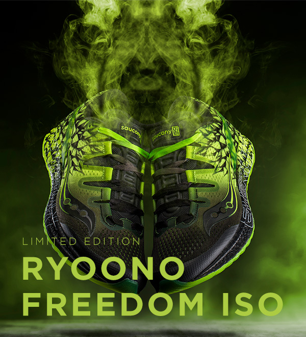 LIMITED EDITION: RYOONO FREEDOM ISO