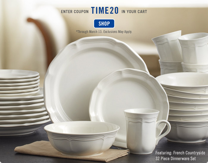 *Dinnerware Set Sale expires Saturday March 31 2018 @ 1159 pm PT. Offer valid on select items only and cannot be applied to past purchases. & Mikasa: Mikasa Dinnerware Set Sale Starts Now! Up to 75% off Plus ...
