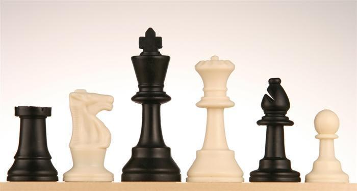 "3 3/4"" Basic Club Chess Pieces"