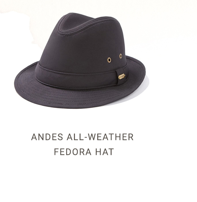 618df9139818d ... Andes All-Weather Fedora Hat