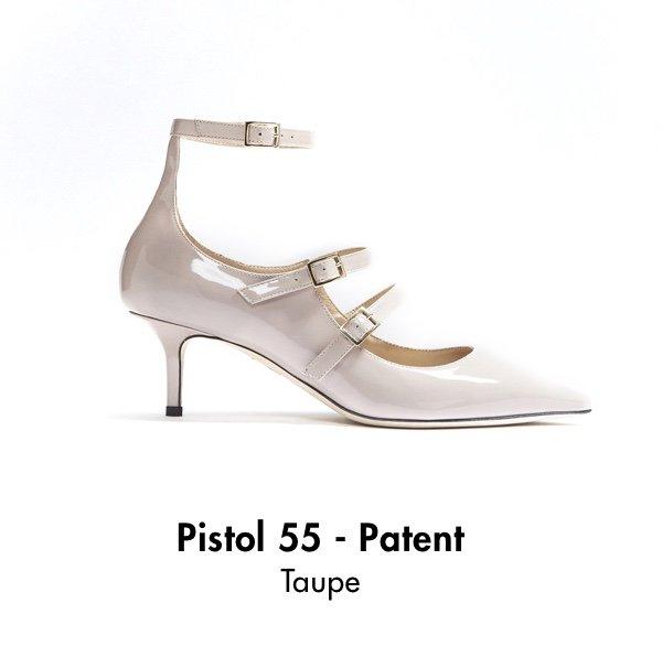 Pistol 55 - Patent Taupe