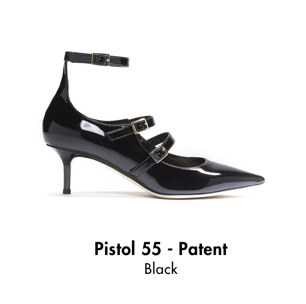 Pistol 55 - Patent Black