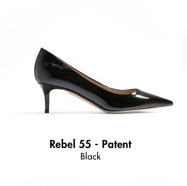 Rebel 55 - Patent Black