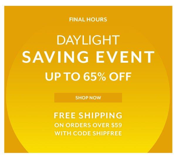 Daylight Saving Event