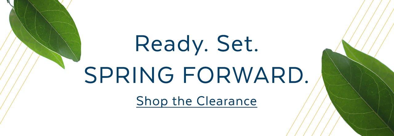 Spring Forward Clearance