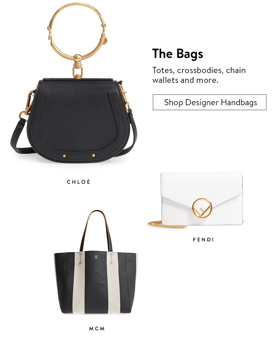 The Bags - Shop Designer Handbags
