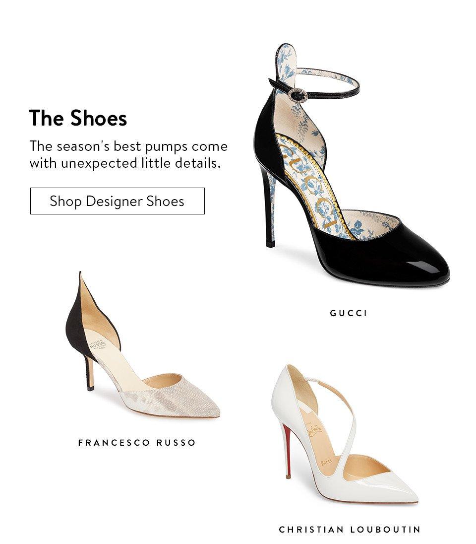 The Shoes - Shop Designer Shoes
