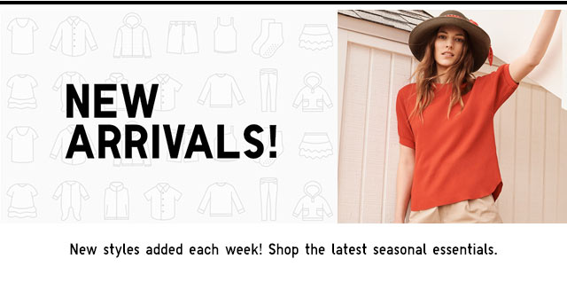 NEW ARRIVALS - SHOP WOMEN