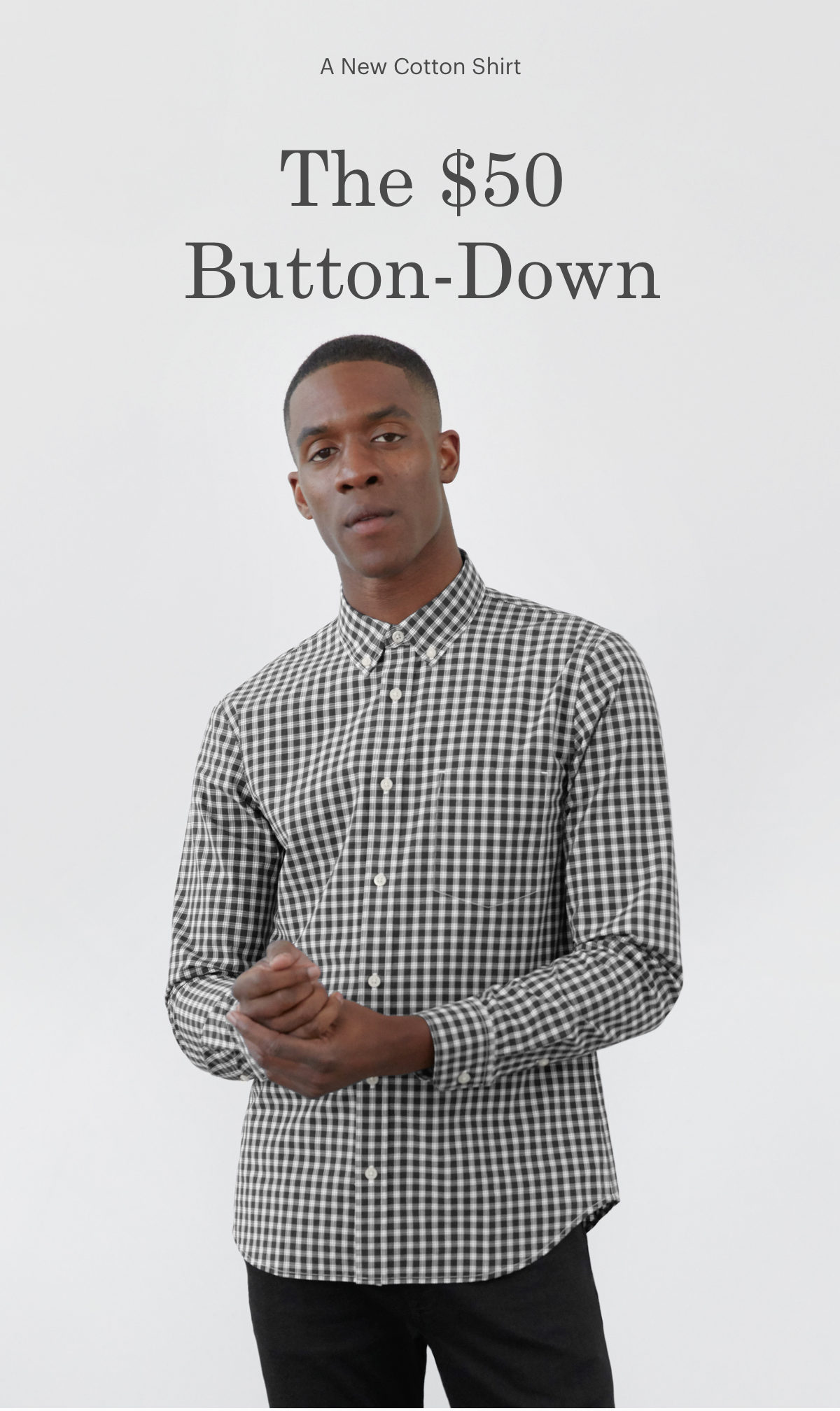 The $50 Button-Down