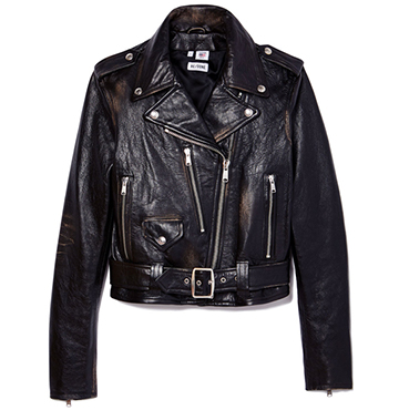 RE/DONE Lamb Leather Moto Jacket $1,750