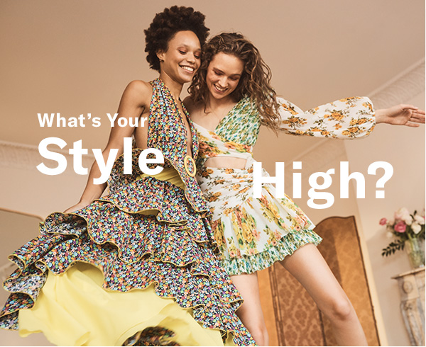 This spring is full of pieces that'll put your closet on cloud nine. Because when you love your look  that's a #stylehigh
