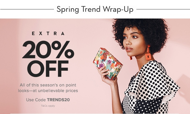 Spring Trend Wrap-Up