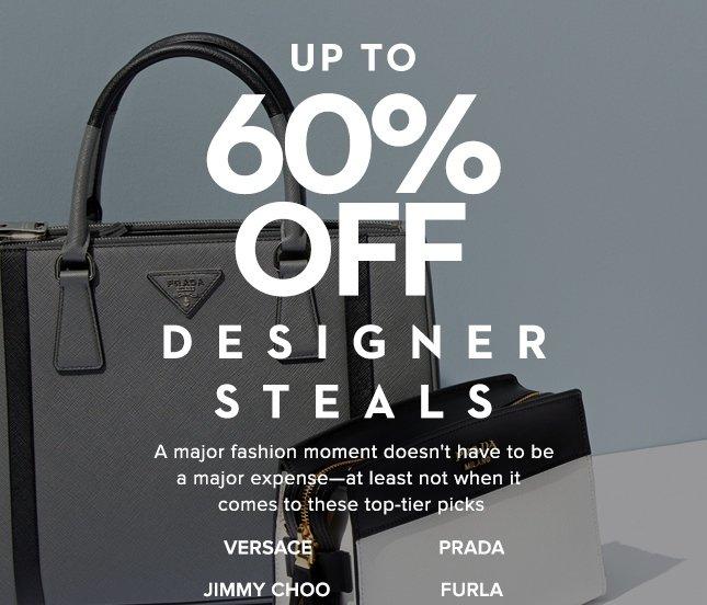 Up To 60% Off Designer Steals