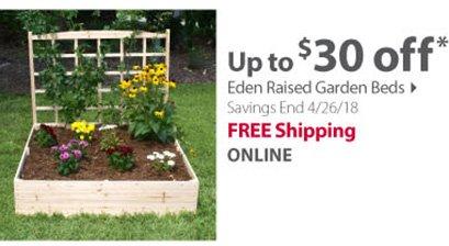 Eden Raised Garden Beds