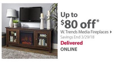 W. Trends Media Fireplaces