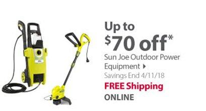 Sun Joe Outdoor Power Equipment