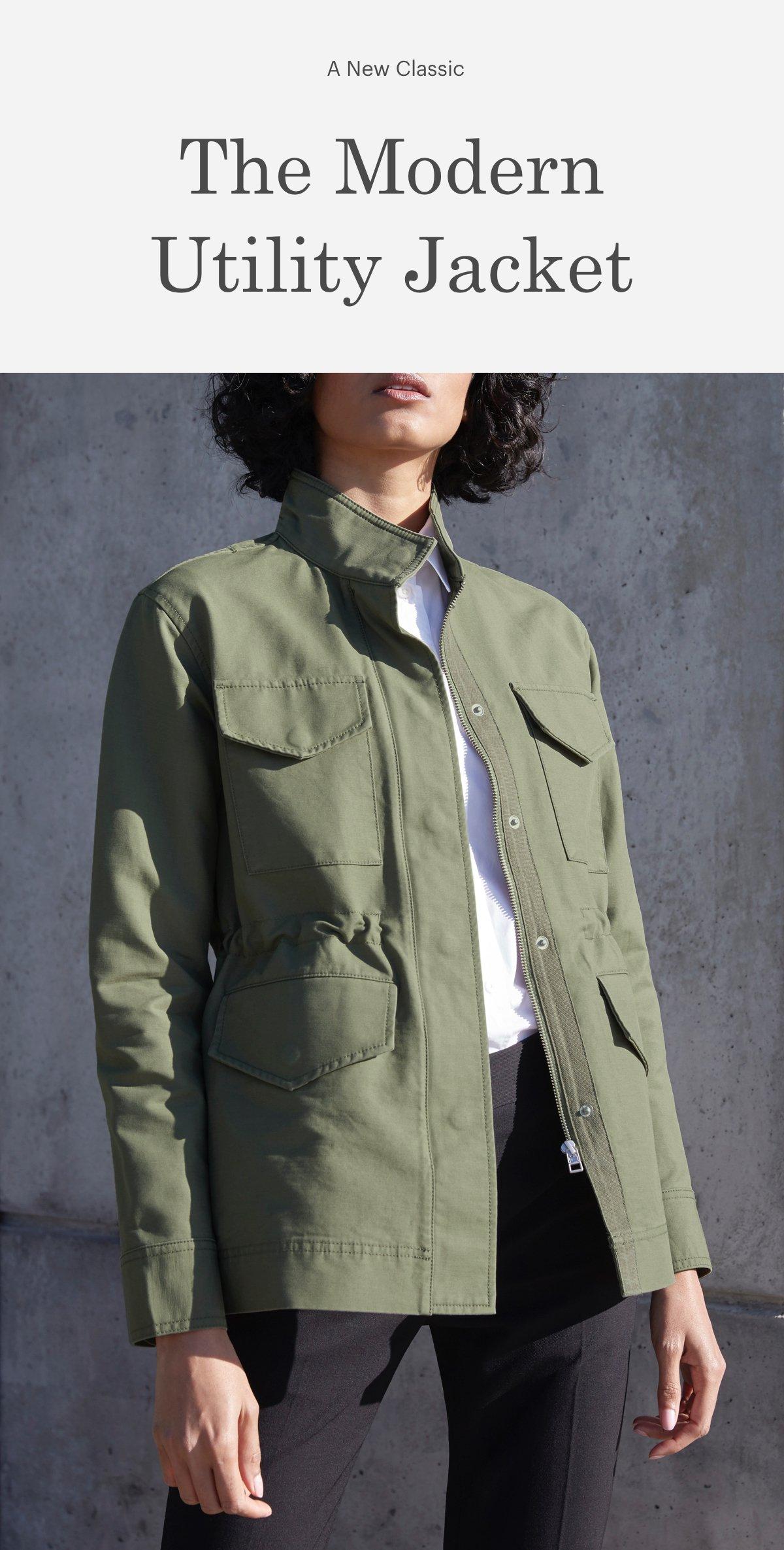 The Modern Utility Jacket