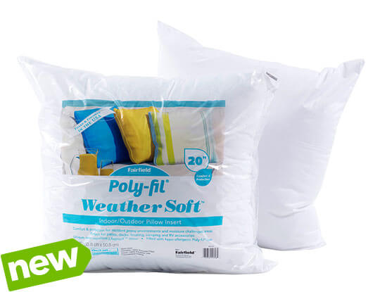 NEW! Weather Soft Pillow Inserts.
