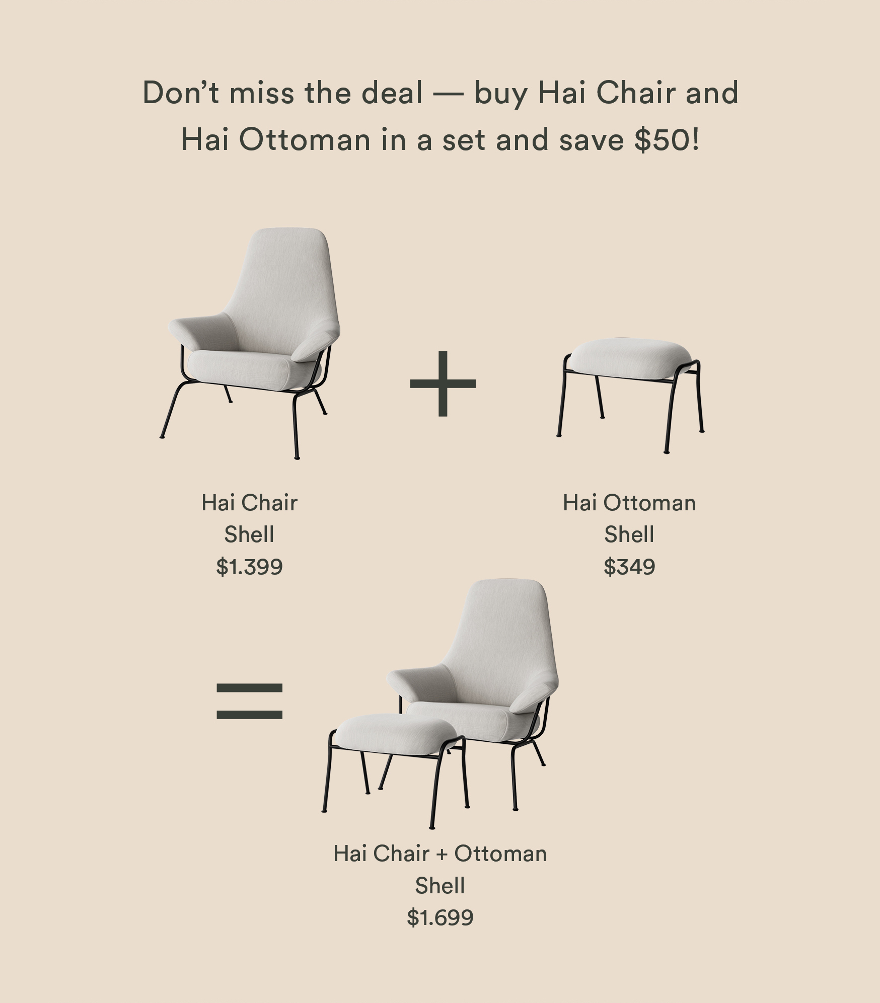 Brilliant Hem Com New In A Fresh Shade For The Hai Chair Milled Pabps2019 Chair Design Images Pabps2019Com