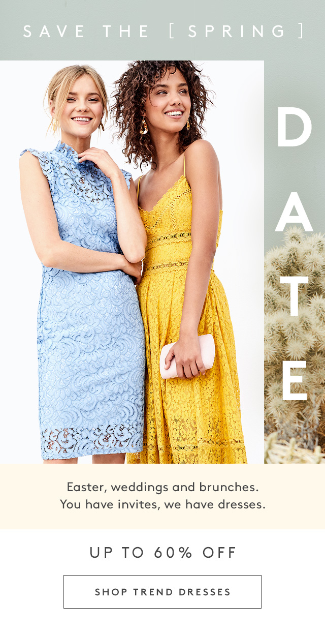 Nordstrom Rack: Dresses up to 65% off for your spring invites | Milled