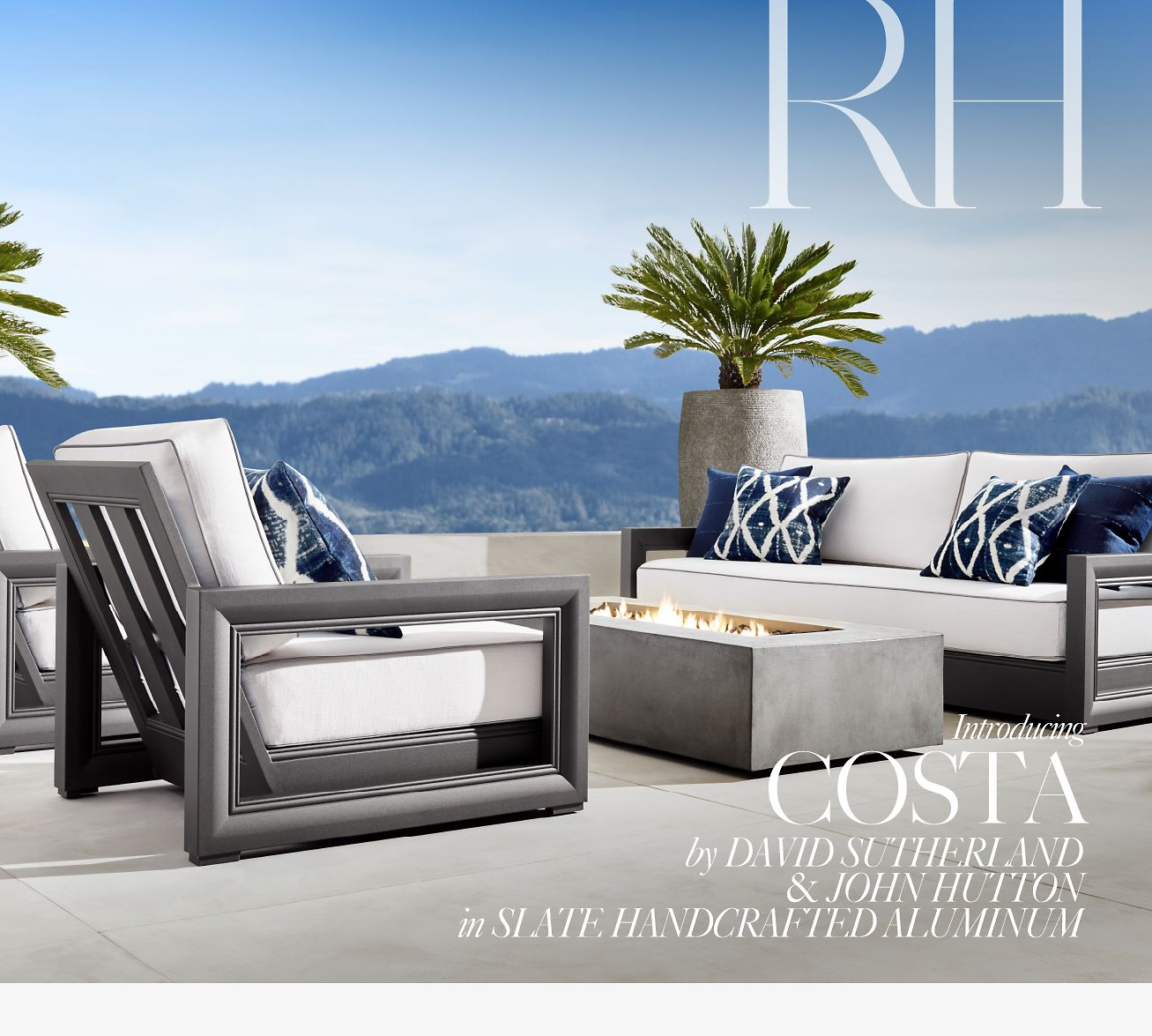 Restoration Hardware Introducing The Costa Outdoor