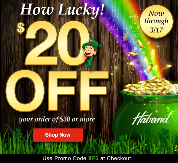 $20 OFF your order of $50 or more!
