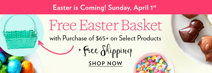 Godiva top easter gifts free gift for you milled free standard shipping on orders 60 599 negle Image collections