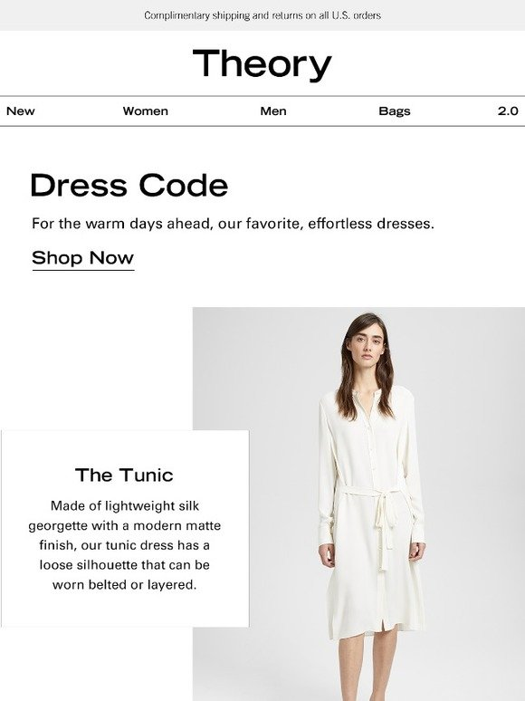 bb2ae3c0dbb Theory: The Four Dresses that Define Spring   Milled